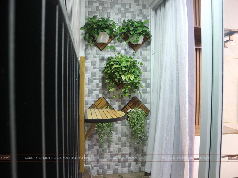 View 09 - Thiết kế không gian logia chung cư Riverside Garden 349 Vũ Tông Phan