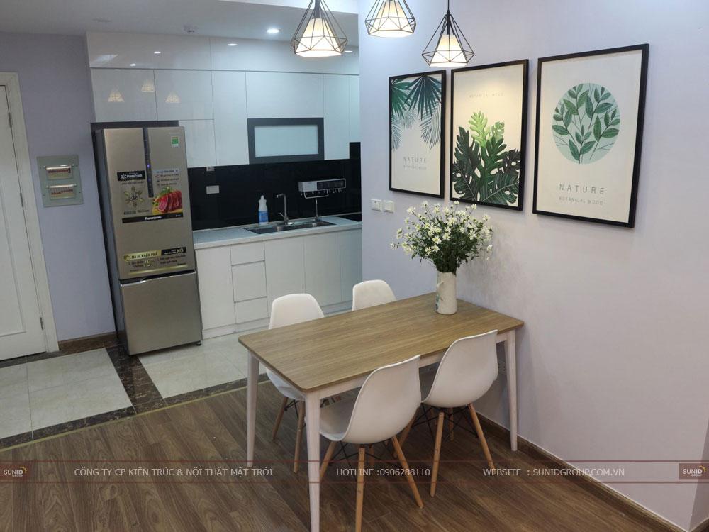 View 04 - thiết kế nội thất không gian bếp chế biến