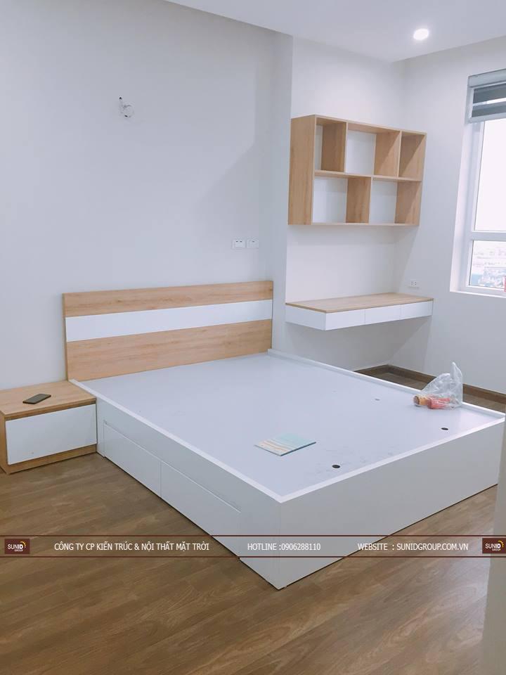 Nội thất giường ngủ phòng Master