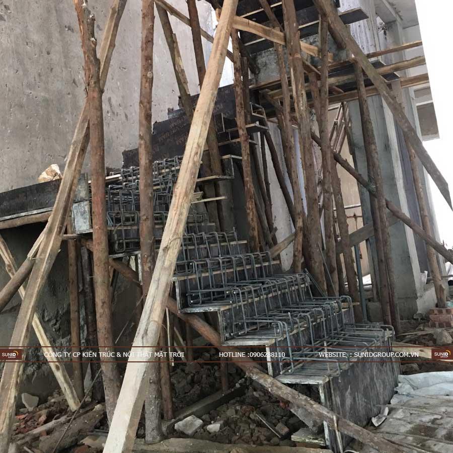 Gia công lắp dựng cốt thép cầu thang