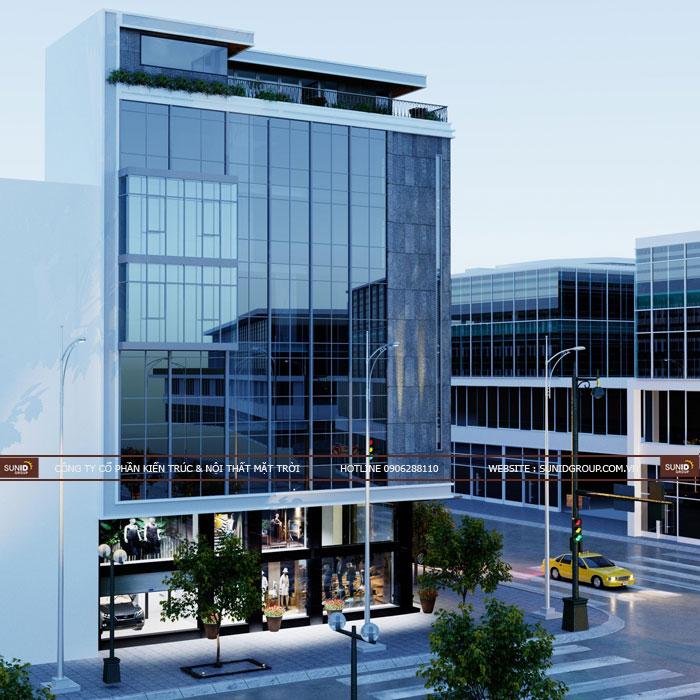 Dự án thiết kế thi công nhà phố 6 tầng tại Phủ Lý – Hà Nam
