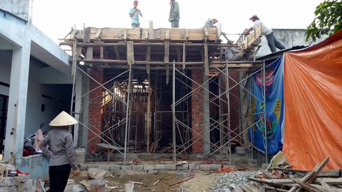Thi công xây dựng nhà phố hiện đại 3 tầng tại Hà Nội – chị Liên