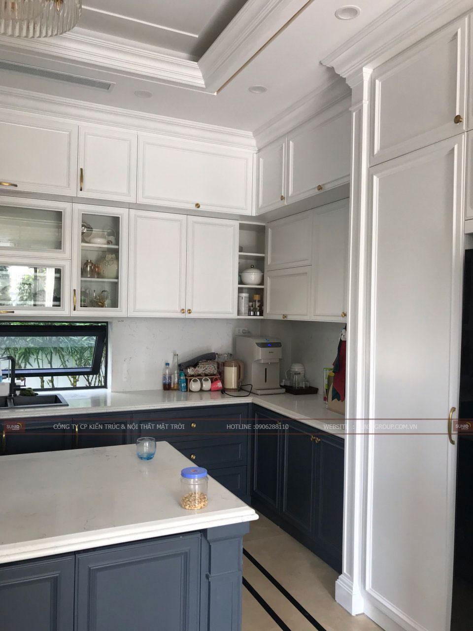 Một góc nhỏ không gian bếp