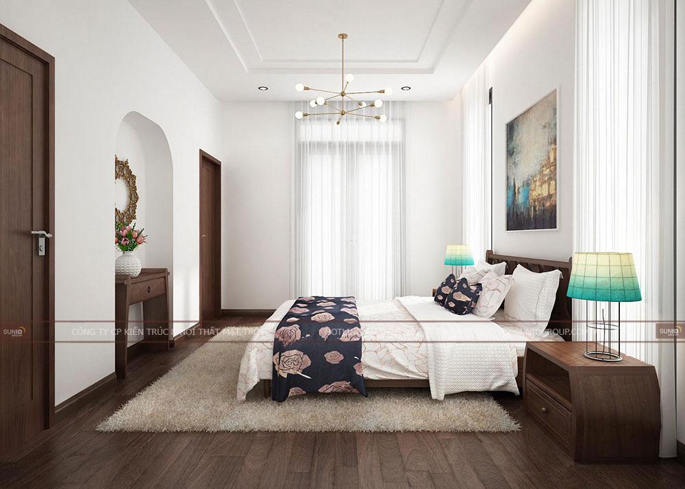 Ánh sáng chính là yếu tố giúp căn phòng trở nên sang trọng, đẹp lộng lẫy hơn