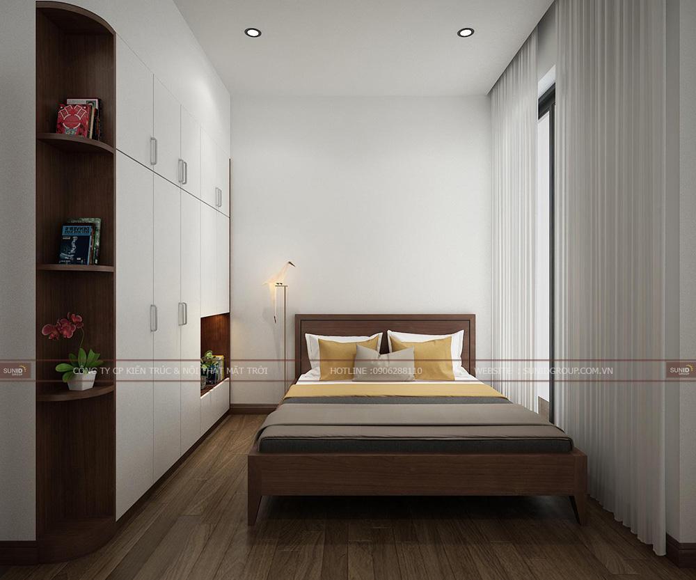 Căn phòng khá rộng và thông thoáng đầy đủ tiện nghi