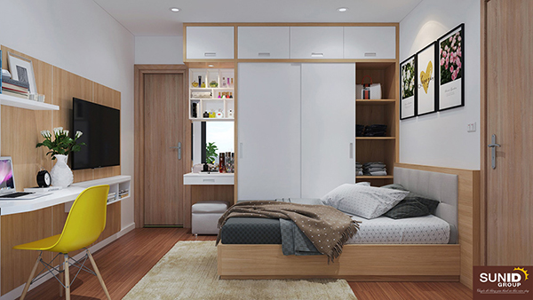 10 ý tưởng thiết kế phòng ngủ nhỏ rộng rãi tiện nghi ai cũng làm được