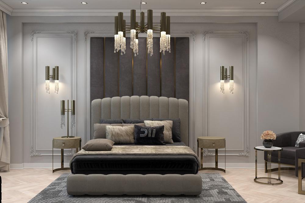 Thiết kế phòng ngủ phong cách tân cổ điển xu hướng thịnh hành được nhiều người lựa chọn