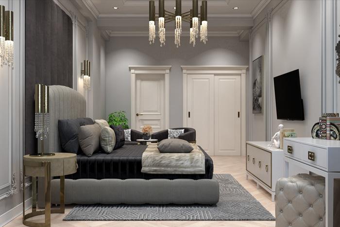 Vì sao thiết kế phòng ngủ phong cách tân cổ điển được nhiều người lựa chọn