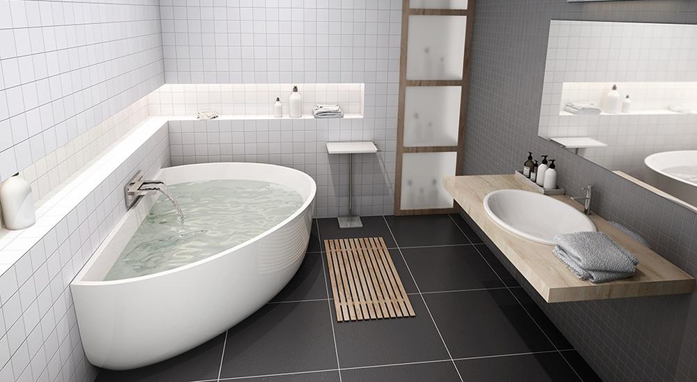 Bạn có thể chọn bồn tắm đơn hoajwxc điiu cho gia đình