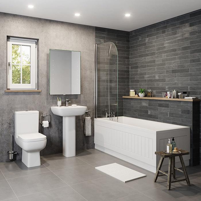 Bí quyết chọn vật liệu và đồ nội thất trong phòng tắm