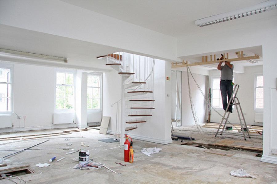 Quy trình sơn tường luôn bền đẹp không bị nứt chân chim