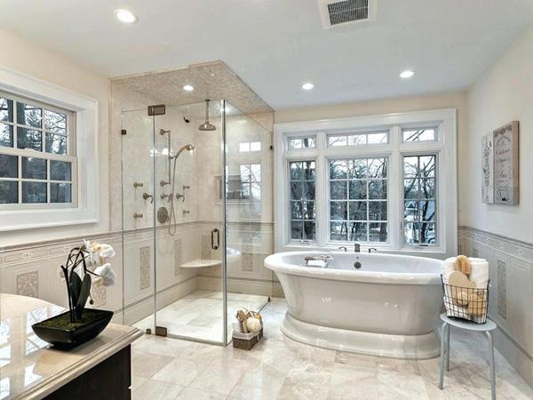 Ưu tiên sử dụng trần thạch cao trong phòng tắm
