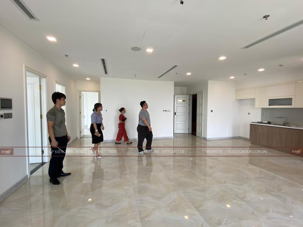Khảo sát căn hộ chung cư Lark 6 Vinhomes Central Park - View 01