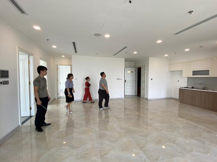 Thi công thiết kế nội thất căn hộ chung cư Lark 6 Vinhomes Central Park
