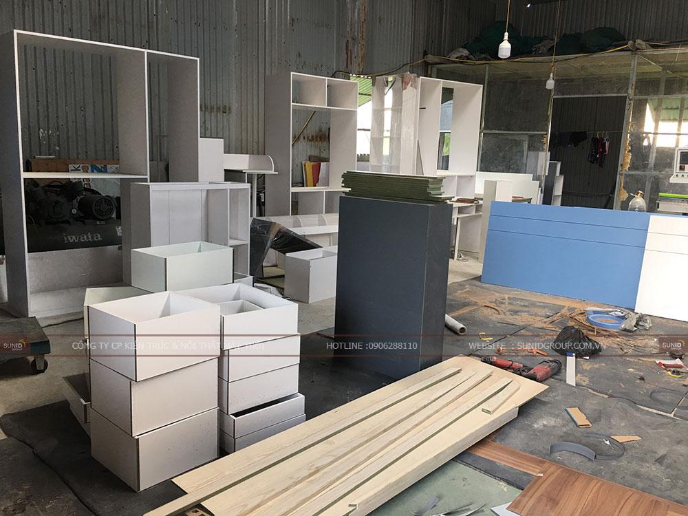 Sản xuất nội thất chung cư PHC Complex 158 Nguyễn Sơn Long Biên - View 02