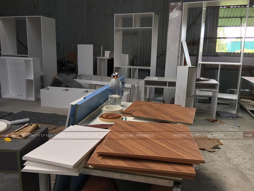 Sản xuất nội thất chung cư PHC Complex 158 Nguyễn Sơn Long Biên - View 03