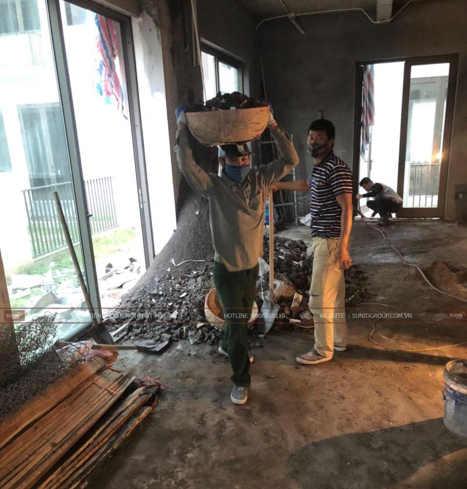 Thi công phần thô biệt thự Khai Sơn Hill - View 08