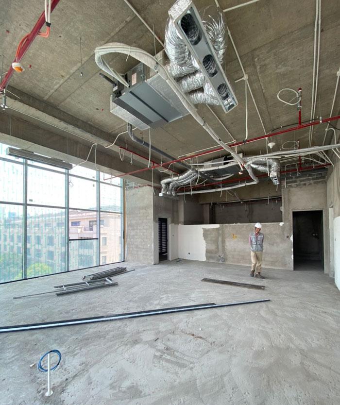 Khảo sát thiết kế căn hộ Penhouse tại Pandora Tower 54 Triều Khúc
