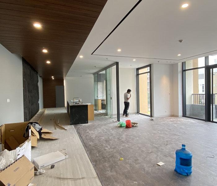 Thi công nội thất căn hộ chung cư PCC1 Triều Khúc