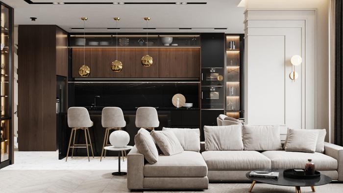 Mẫu thiết kế nội thất chung cư The Zei – Lê Đức Thọ tại Mỹ Đình Hà Nội