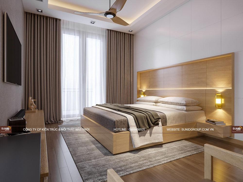 Phòng ngủ Master - View 04