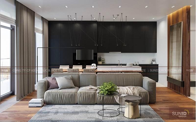 Thiết kế nội thất chung cư tại the Sparks Dương Nội A. Chung