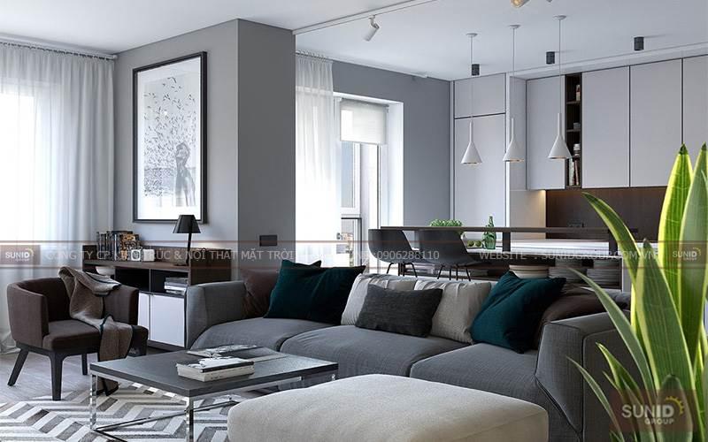 Thiết kế nội thất chung cư tại Sun Grand City 69B Thụy Khuê A.Giang