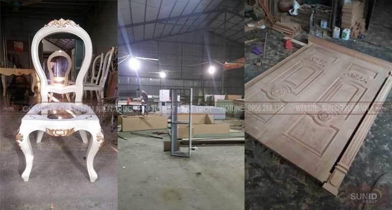 Xưởng gỗ Sunid