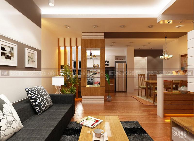 Thiết kế nội thất nhà liền kề VINHOMES MỸ ĐÌNH