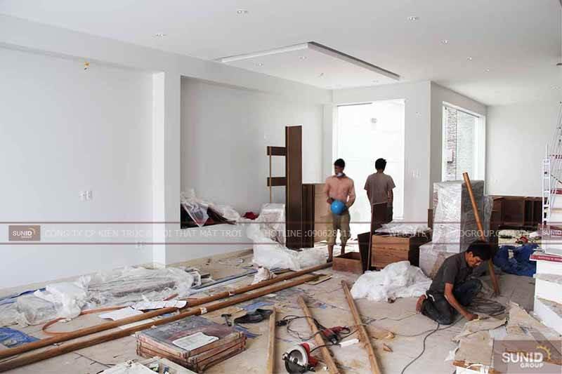 Thi công cải tạo nội thất chung cư tứ hiệp Plaza C. Mai
