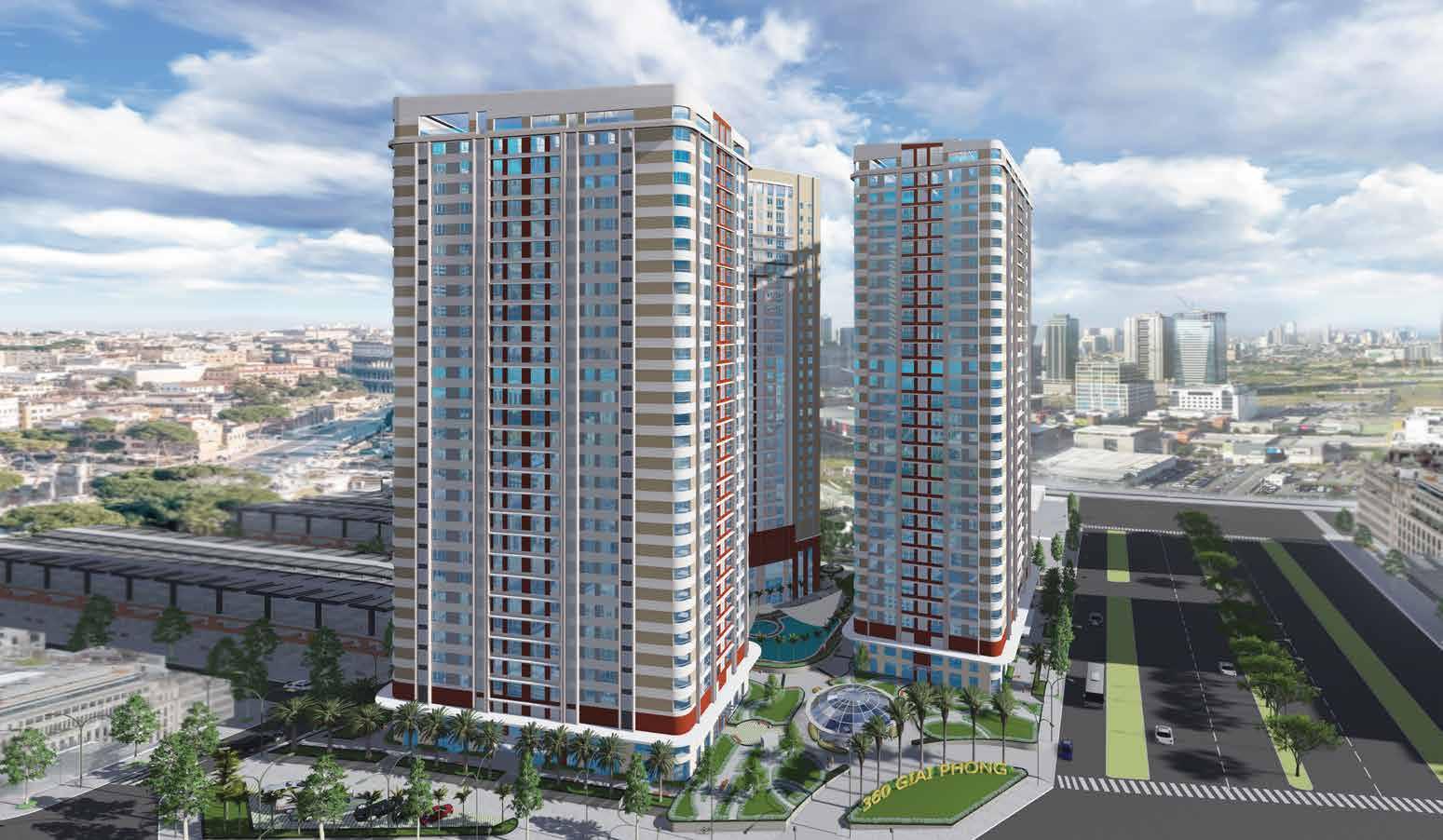 Thiết kế nội thất căn hộ chung cư Imperial Plaza 360 Giải Phóng