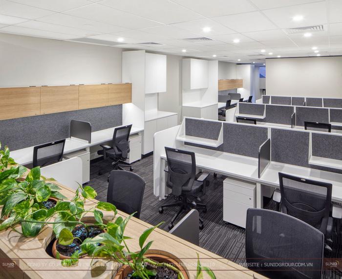 Thiết kế nội thất văn phòng đẹp – chuyên nghiệp