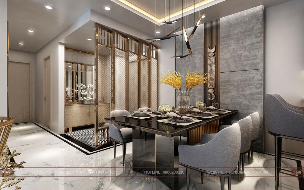 Thiết kế nội thất chung cư Mandarin Graden 2 Tân Mai – Hiện Đại