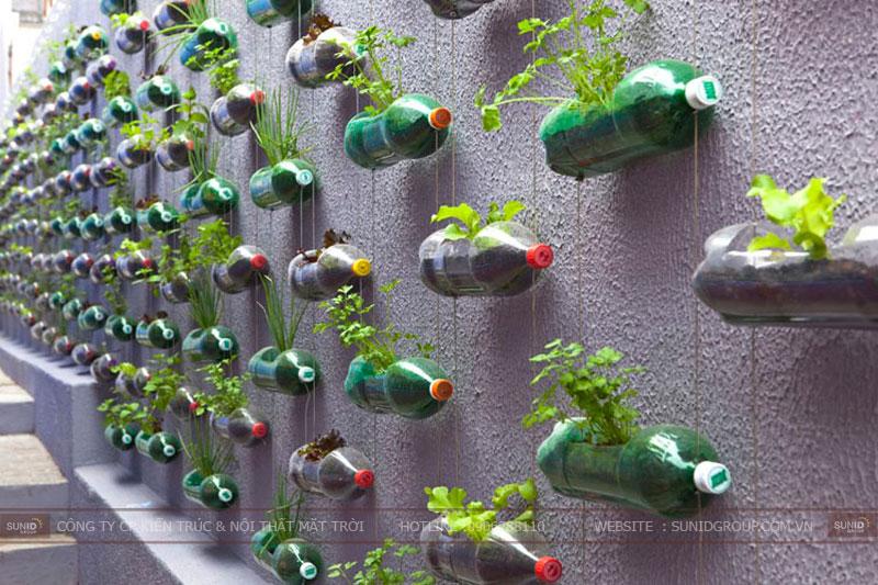 Chiêm ngưỡng những mẫu thiết kế vườn tường đẹp độc đáo