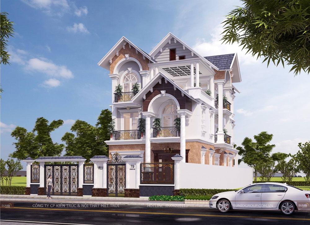 Những mẫu thiết kế kiến trúc biệt thự đẹp