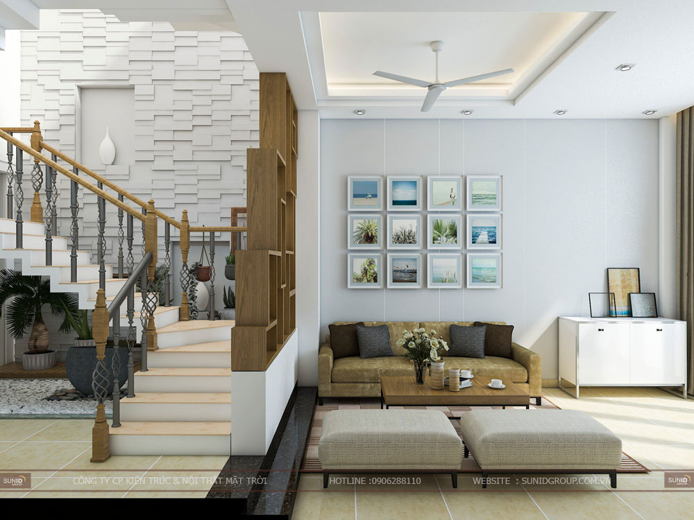 Thiết kế nội thất nhà liền kề The Manor Central Park