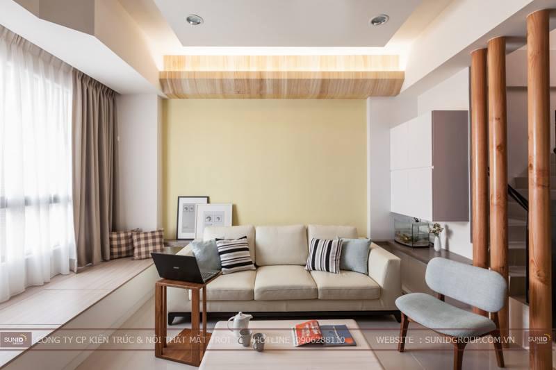 Thiết kế ngôi nhà đẹp hài hòa – tinh tế