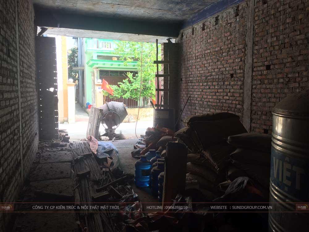 Thi công xây dựng nhà tại Gia Lâm – Anh Hoàng