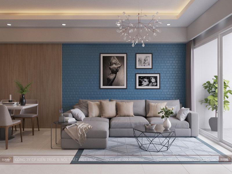 Thiết kế nội thất chung cư hiện đại Vincity Tây Mỗ