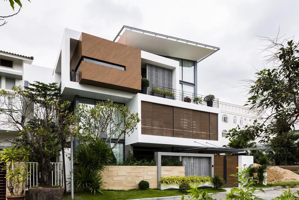 Thiết kế biệt thự phố đẹp hiện đại tại Hà Nội