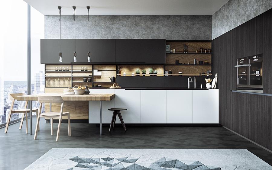 vật liệu lát sàn nhà bếp