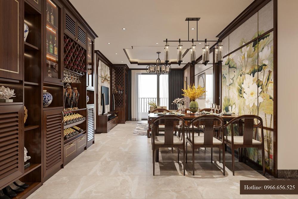 Ý tưởng thiết kế nội thất chung cư cao cấp tại Hà Nội