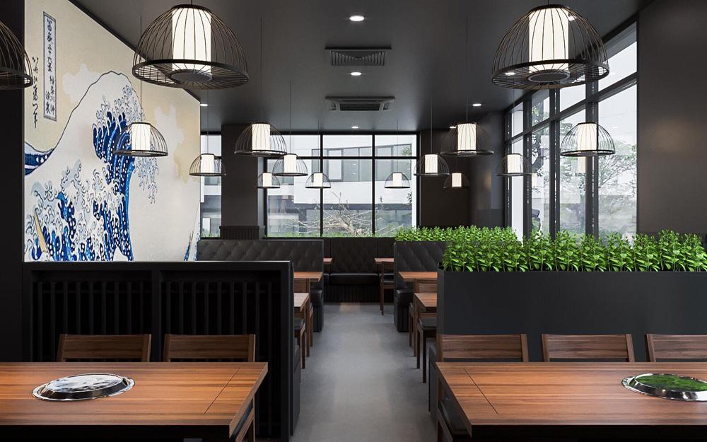 Thiết kế thi công nội thất nhà hàng đẹp tại Hà Nội