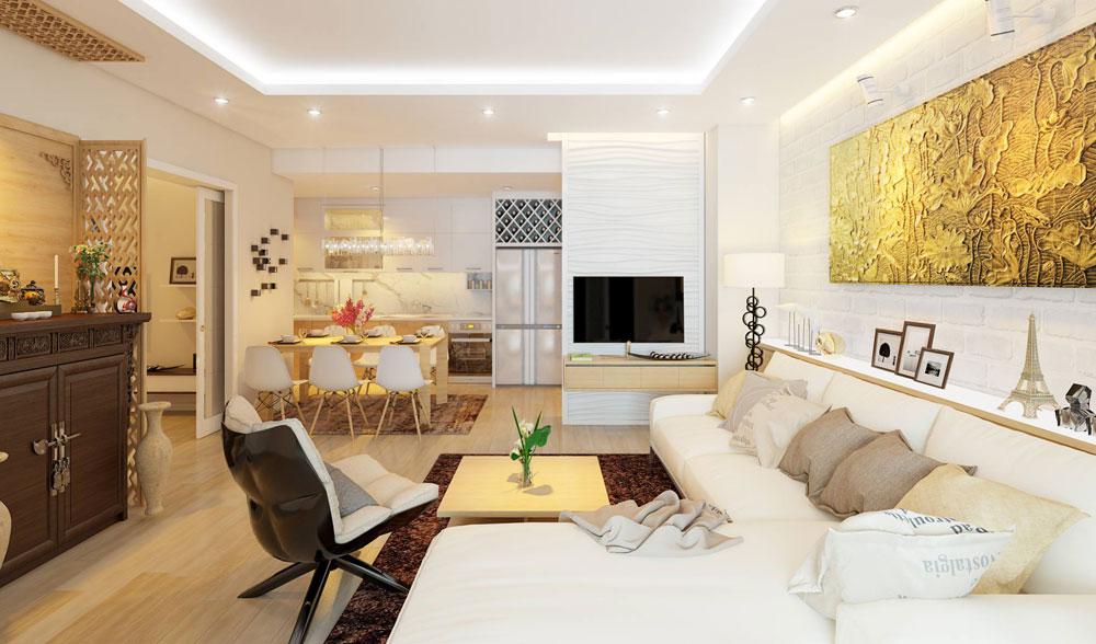 Thiết kế nội thất chung cư đơn giản tối ưu chi phí