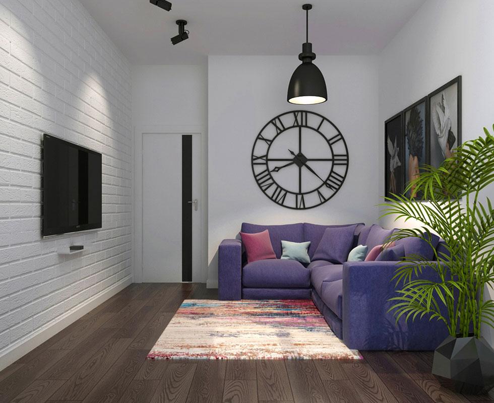 Dự án thiết kế nội thất căn hộ chung cư 91m2 tại Hà Nội
