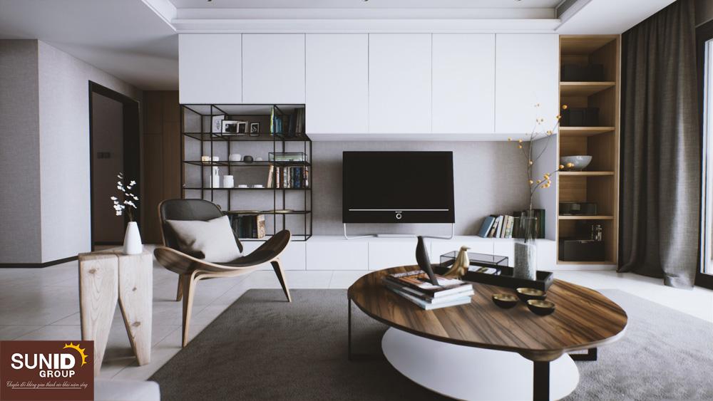 Thiết kế nội thất chung cư Sunshine garden 34 Vĩnh Tuy