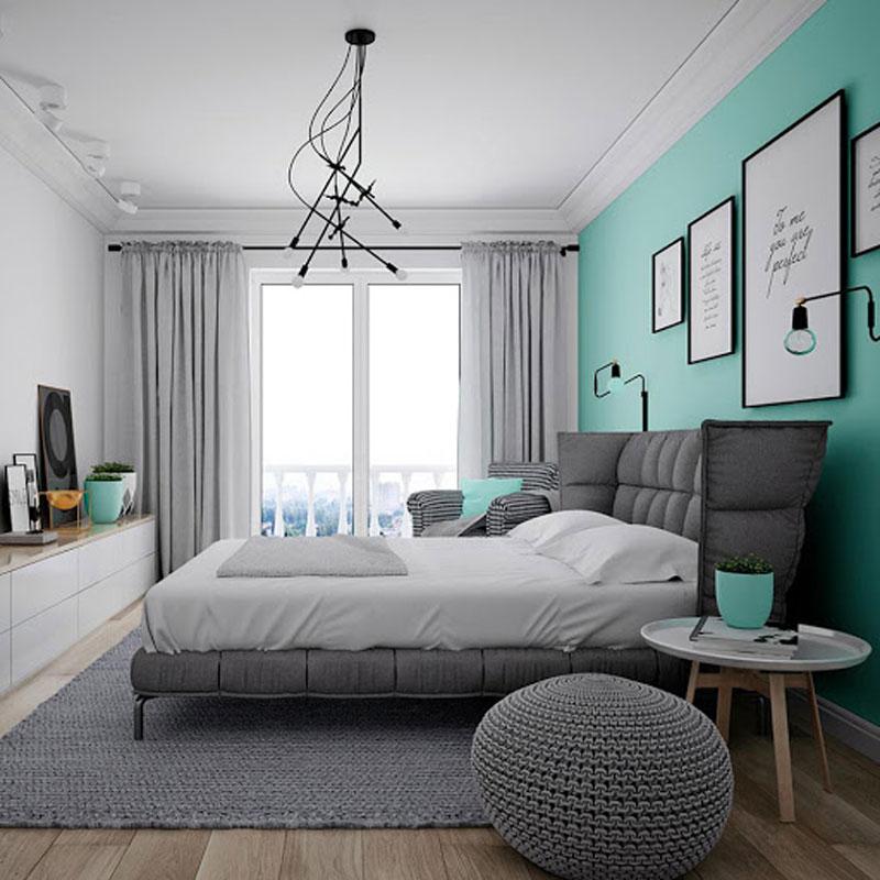 Vì sao phòng ngủ màu xanh dương lại tốt cho giấc ngủ